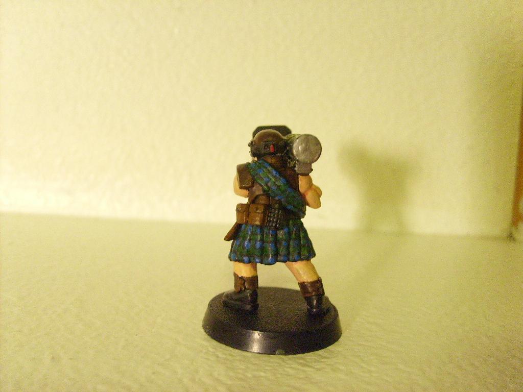 Conversion, Greenstuff, Imperial Guard, Kilt, Warhammer 40,000