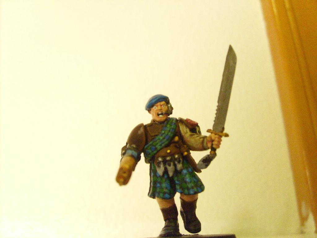 Conversion, Imperial Guard, Kilt, Scotland, Sword