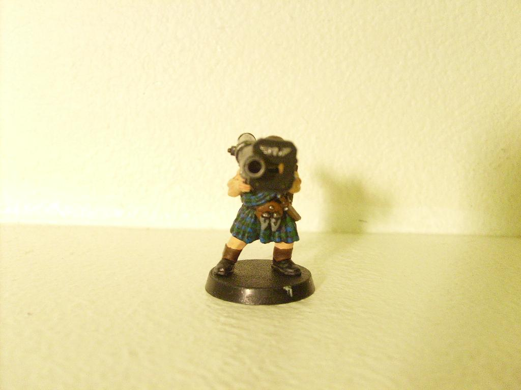 Imperial Guard, Kilt, Missile Launcher, Warhammer 40,000