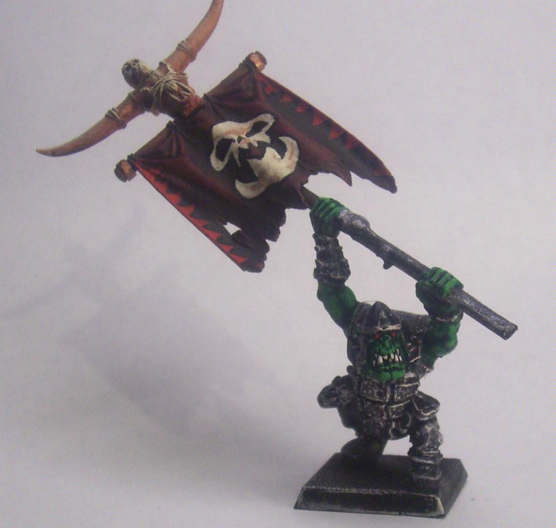 Banner, Orcs And Goblins, Warhammer Fantasy