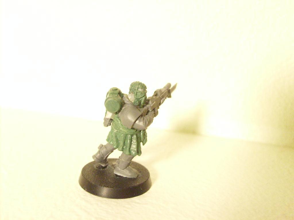 Fen Guard, Greenstuff, Imperial Guard