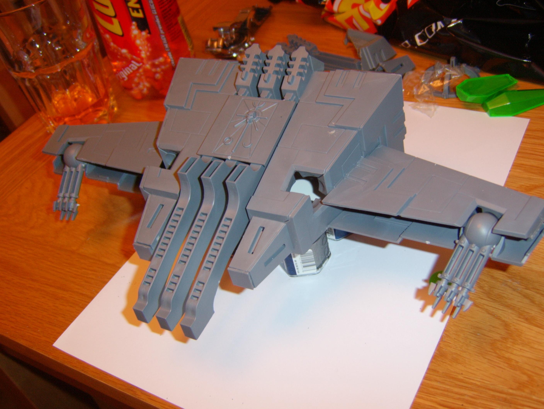 Conversion, Monolith, Necrons, Warhammer 40,000, Work In Progress