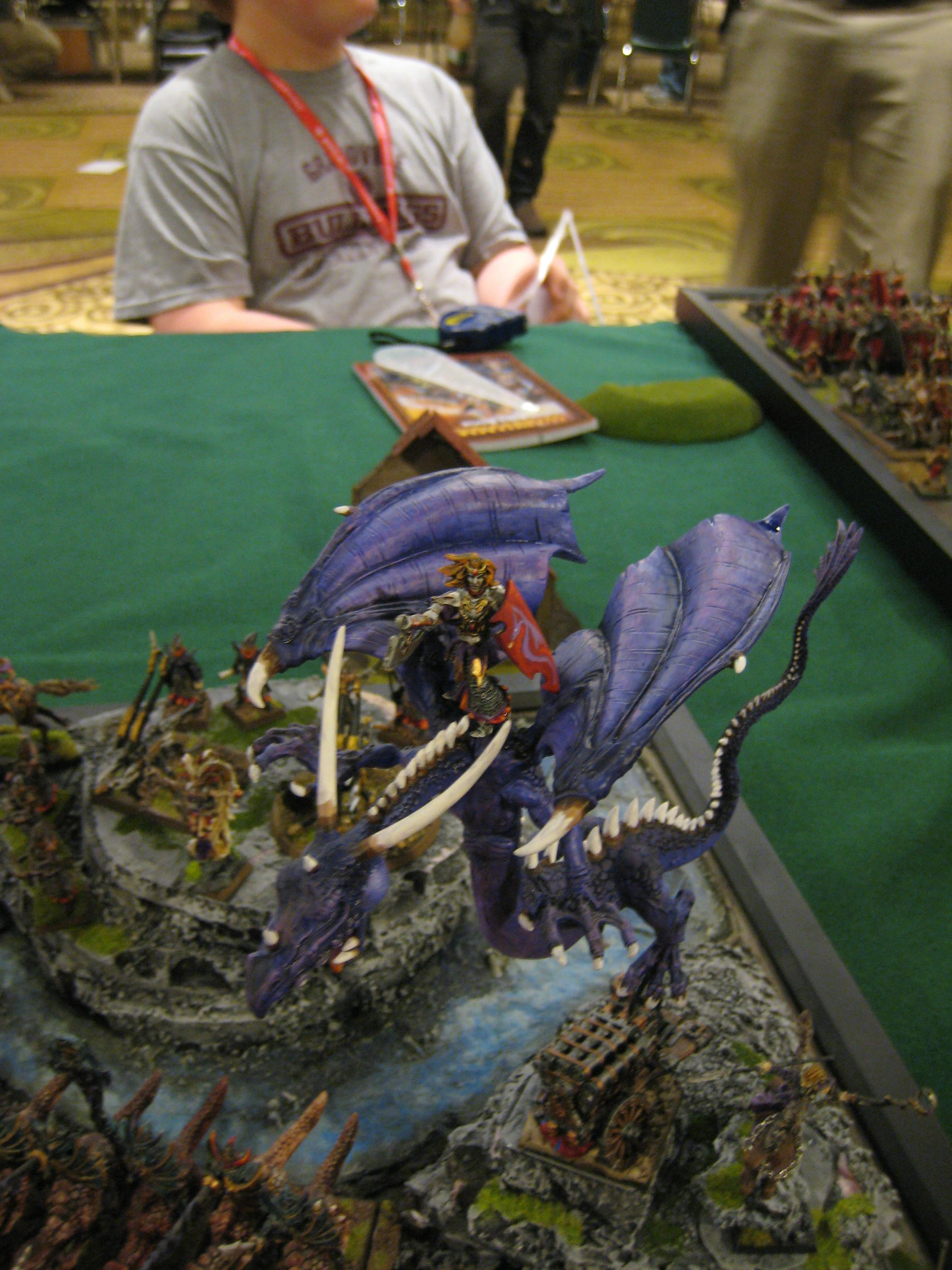 Conversion, Dark Elves, Dragon, Grand Tournament, Scenic, Warhammer Fantasy