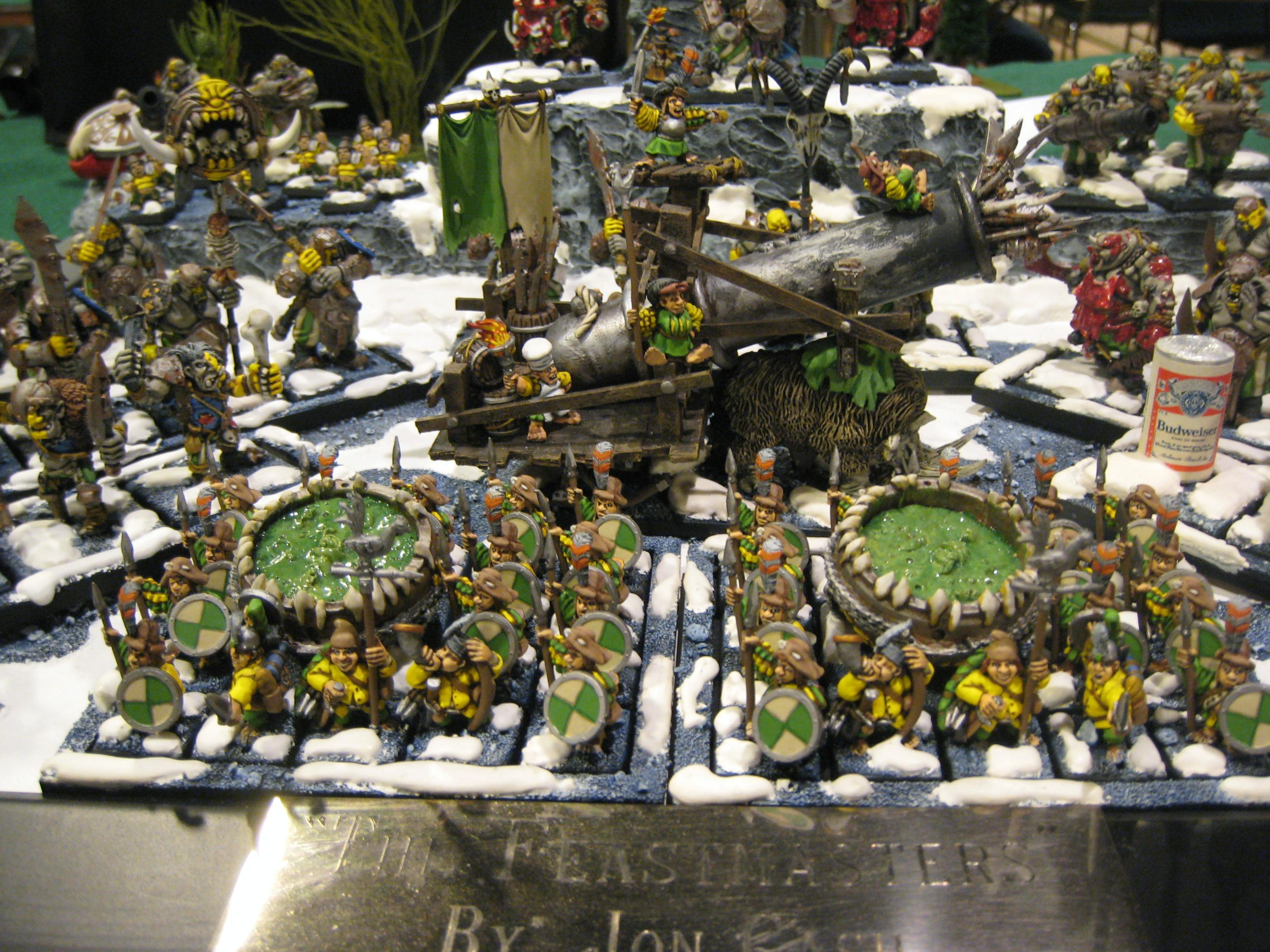 Best Appearance, Conversion, Grand Tournament, Halflings, Humor, Ogre Kingdoms, Warhammer Fantasy