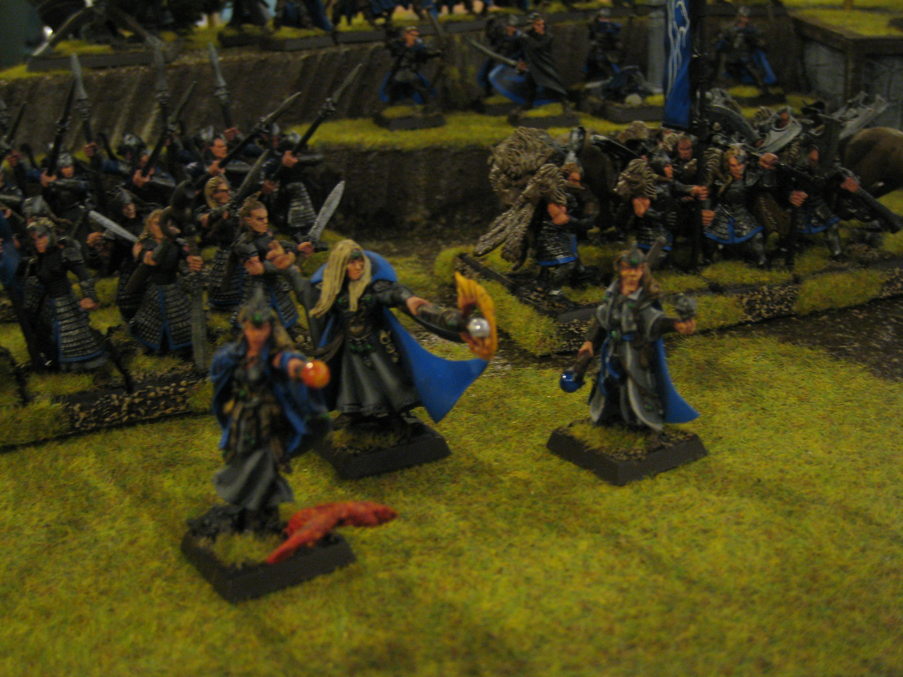 Adepticon, Conversion, High Elves, Warhammer Fantasy, White Lions, Wizard