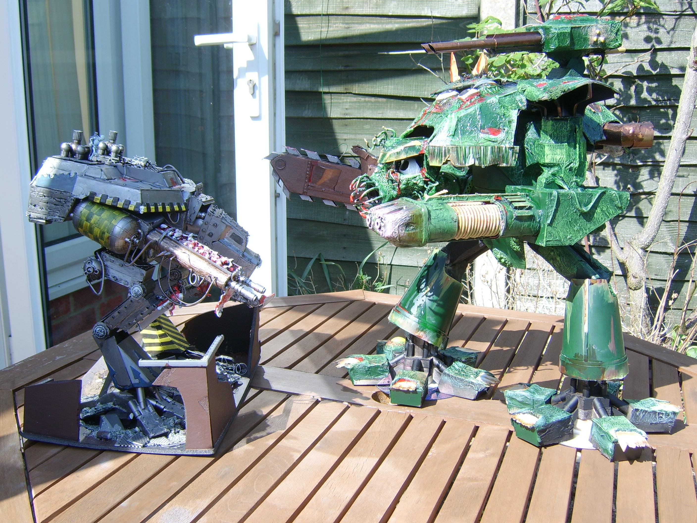 Apocalypse, Nurgle, Titan, Walker, Warhammer 40,000, Warhound
