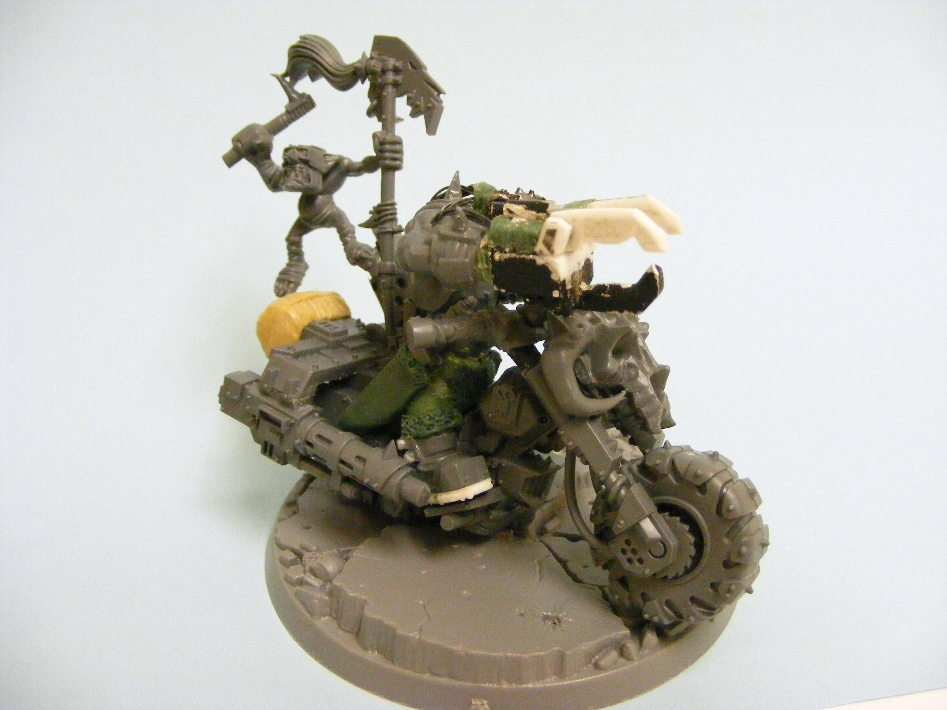 Bike, Orks, Powerklaw, Warhammer 40,000