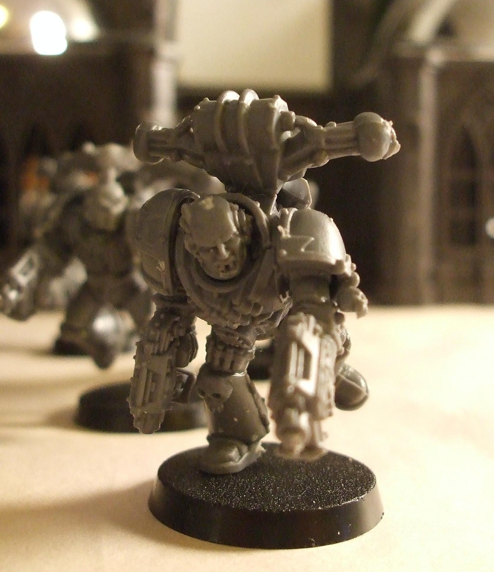Berserkers, Chaos, Chaos Space Marines, Dual Pistol, Khorne, Running, Warhammer 40,000