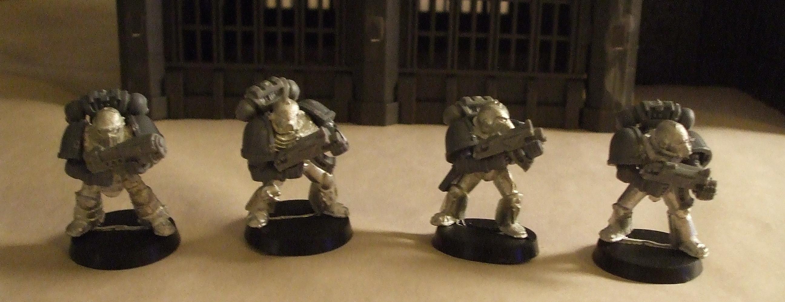 Rogue Trader, Space Marines, Variant Armor, Warhammer 40,000, Work In Progress