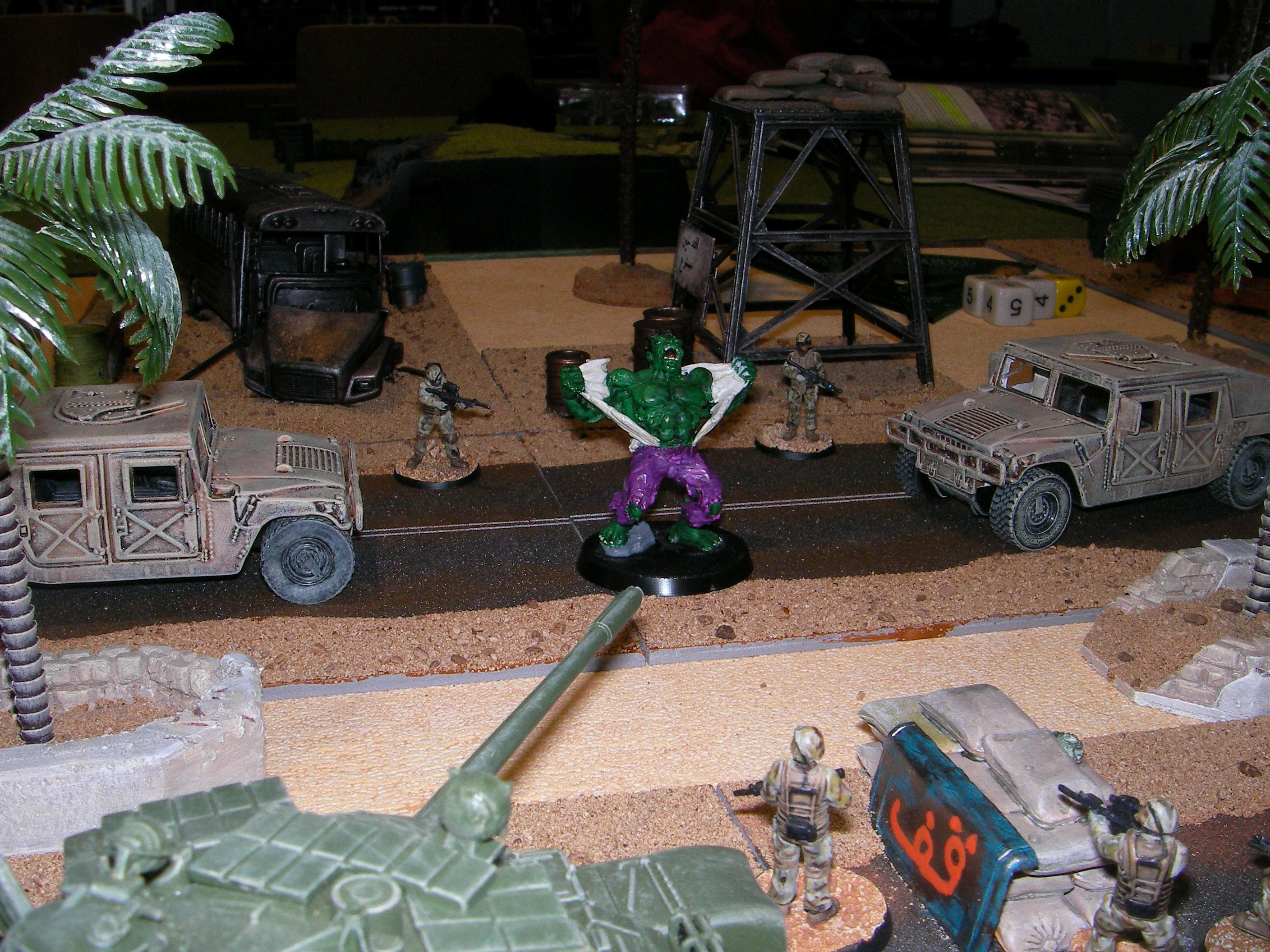 Evolution, Game Table, Heroclix, Iraq, Middle East, Middle Eastern, Modern, Terrain