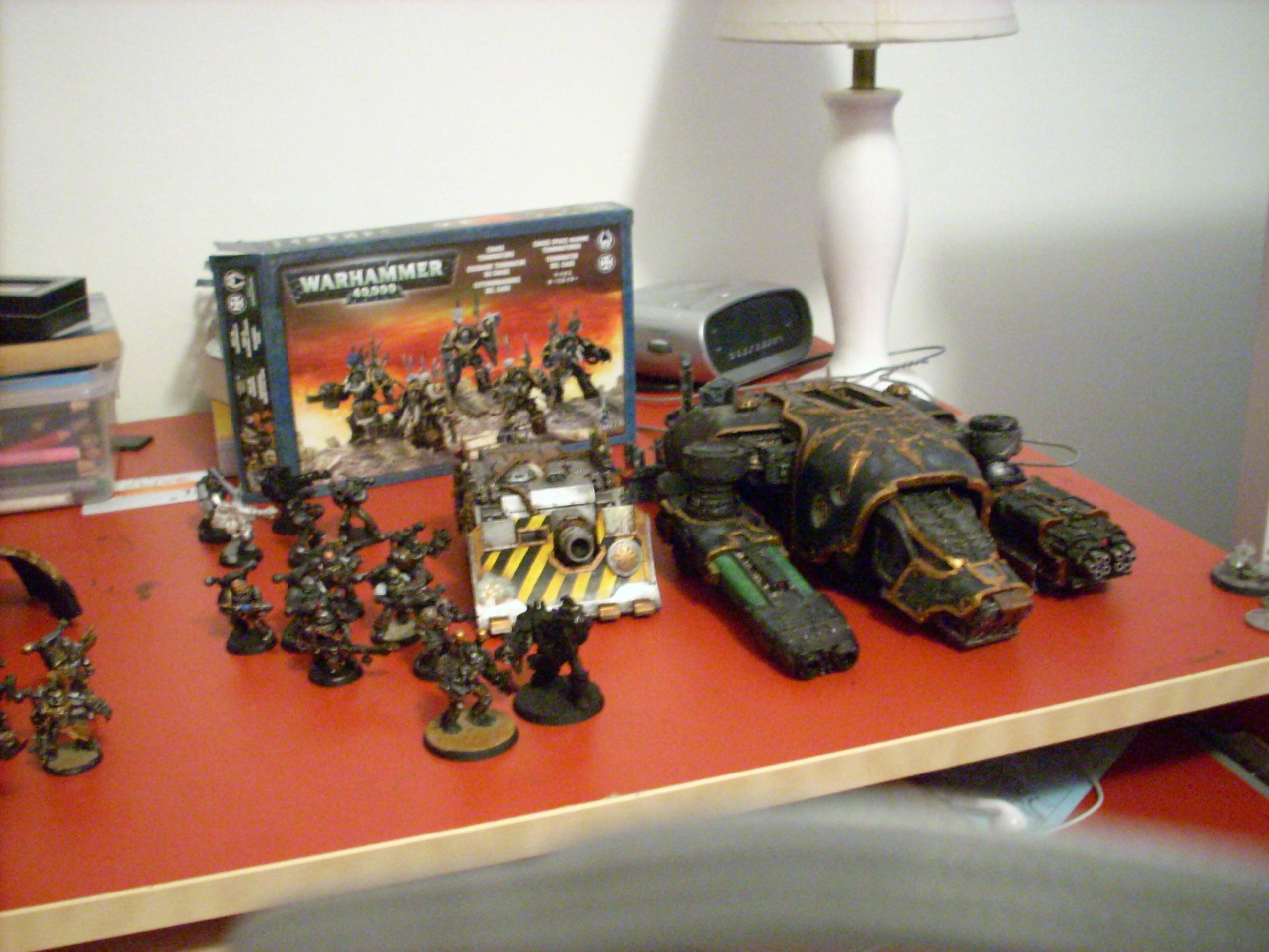 Chaos, Chaos Space Marines, Comparison, Iron Warriors, Warhammer 40,000