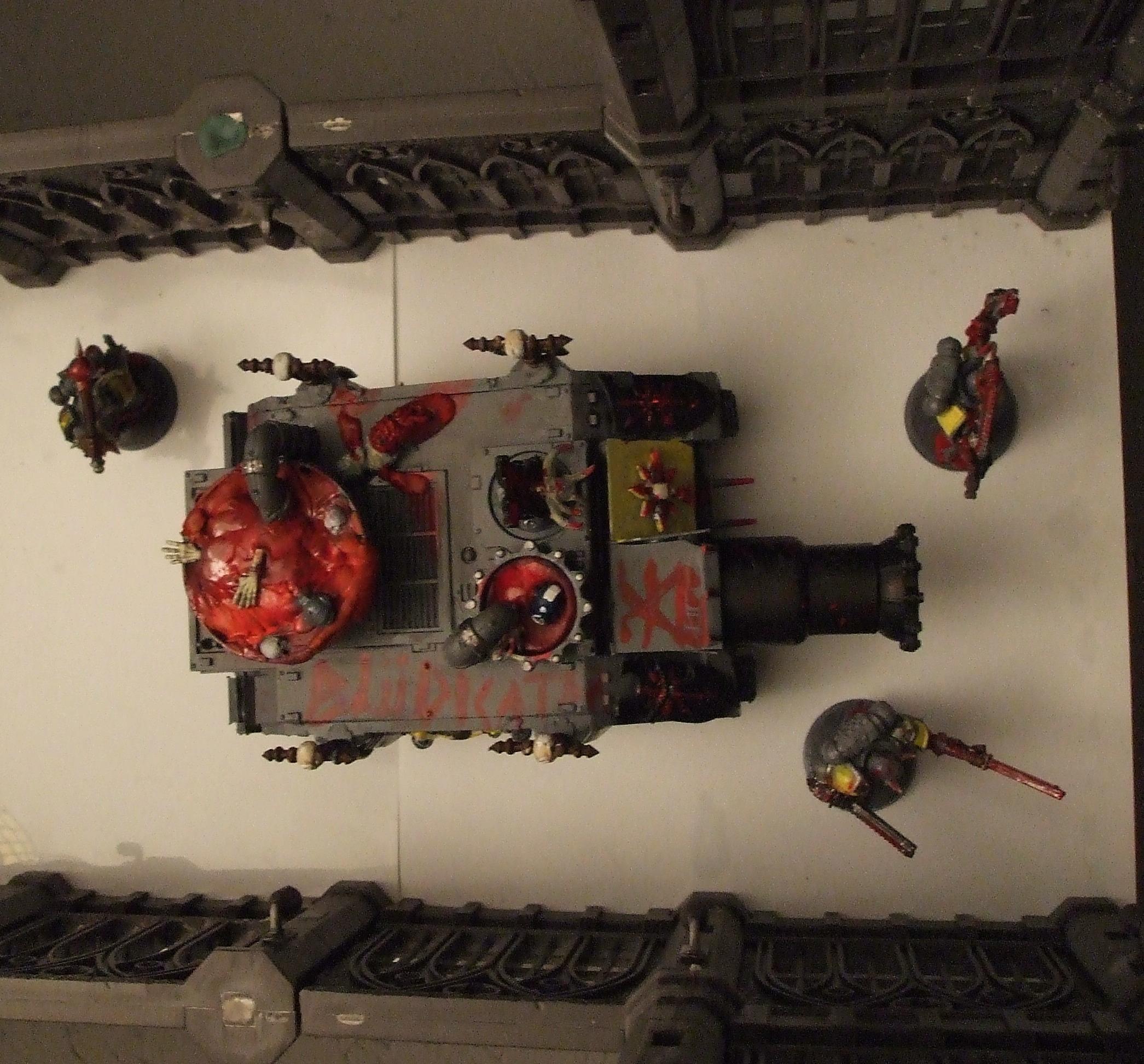 Blood, Tank, Vindicator