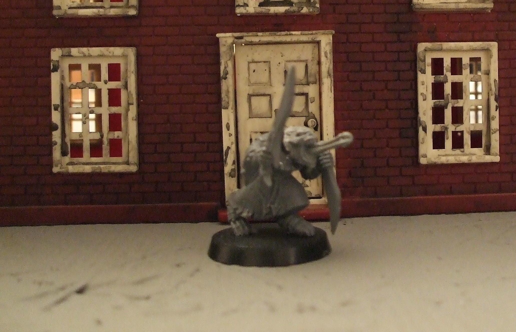 This one I like, cut down 'stealer head on monk body