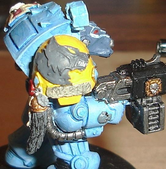 Space Wolves, Terminator Armor