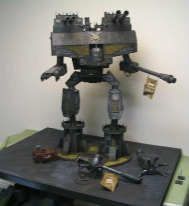 Poor Picture Quality, Scratch Build, Titan, Warhammer 40,000, Warlord