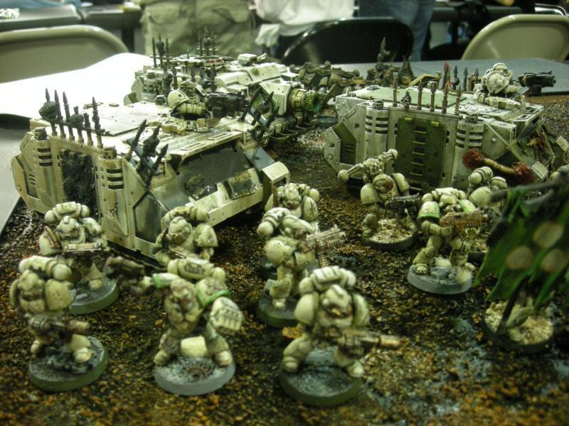 Chaos Space Marines, Nurgle, Plague Marines