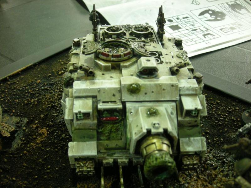 Nurgle, Plague Marines, Tank, Vindicator