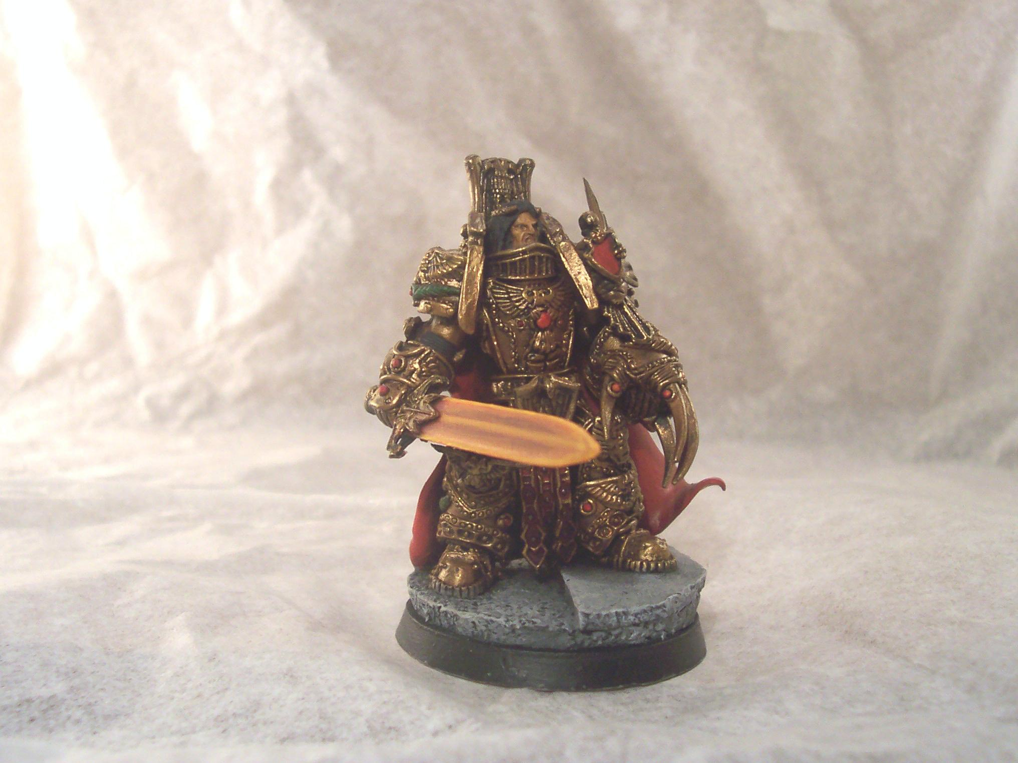 Character, Emperor, Emperor Of Mankind, Horus Heresy, Pre-heresy, Scratch Build, Warhammer 40,000