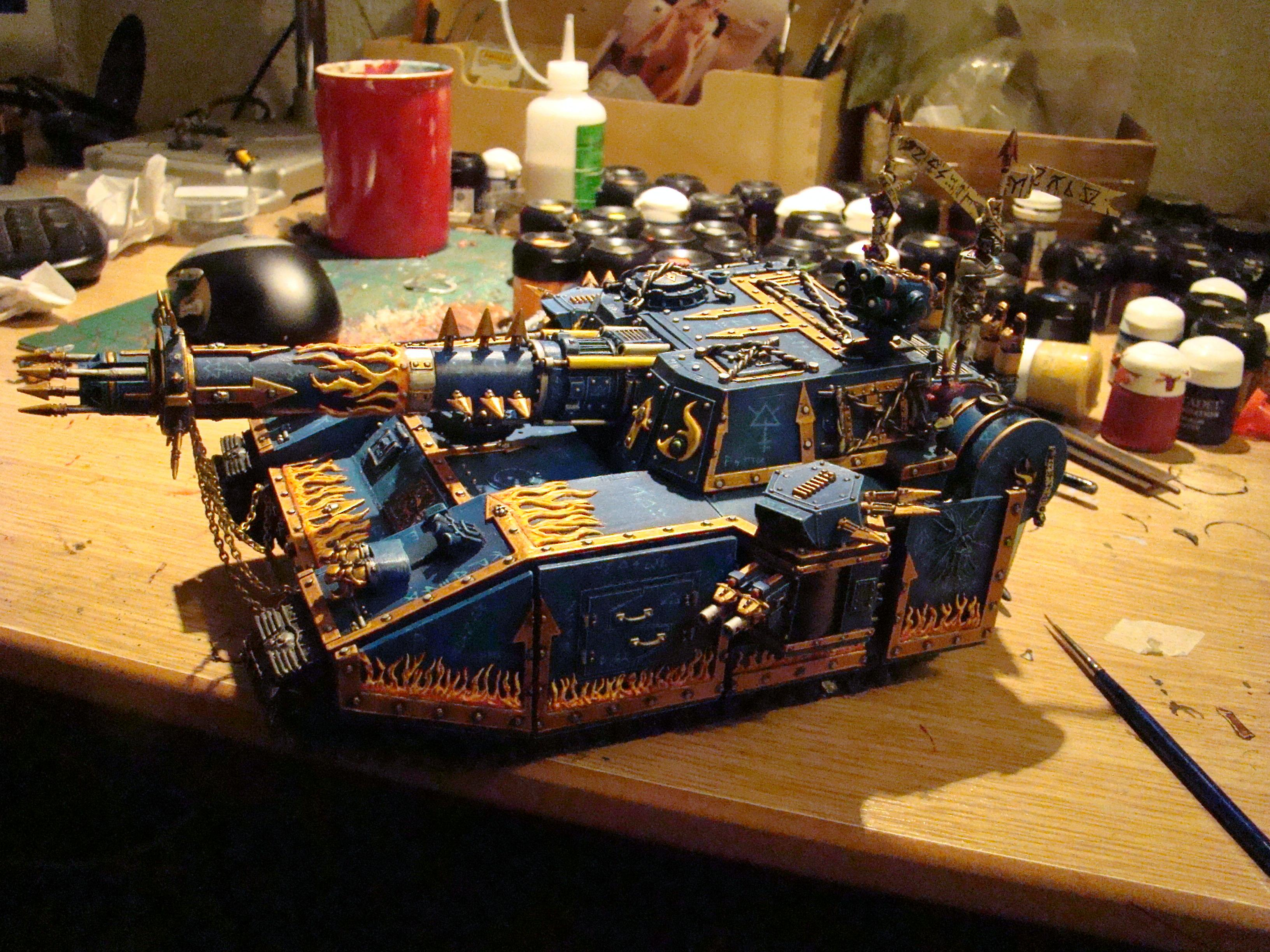Baneblade, Chaos, Chaos Space Marines, Thousand Sons, Tzeentch, Warhammer 40,000