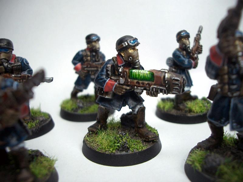 Imperial Guard, Plasma Gun, Steel Legion, Warhammer 40,000