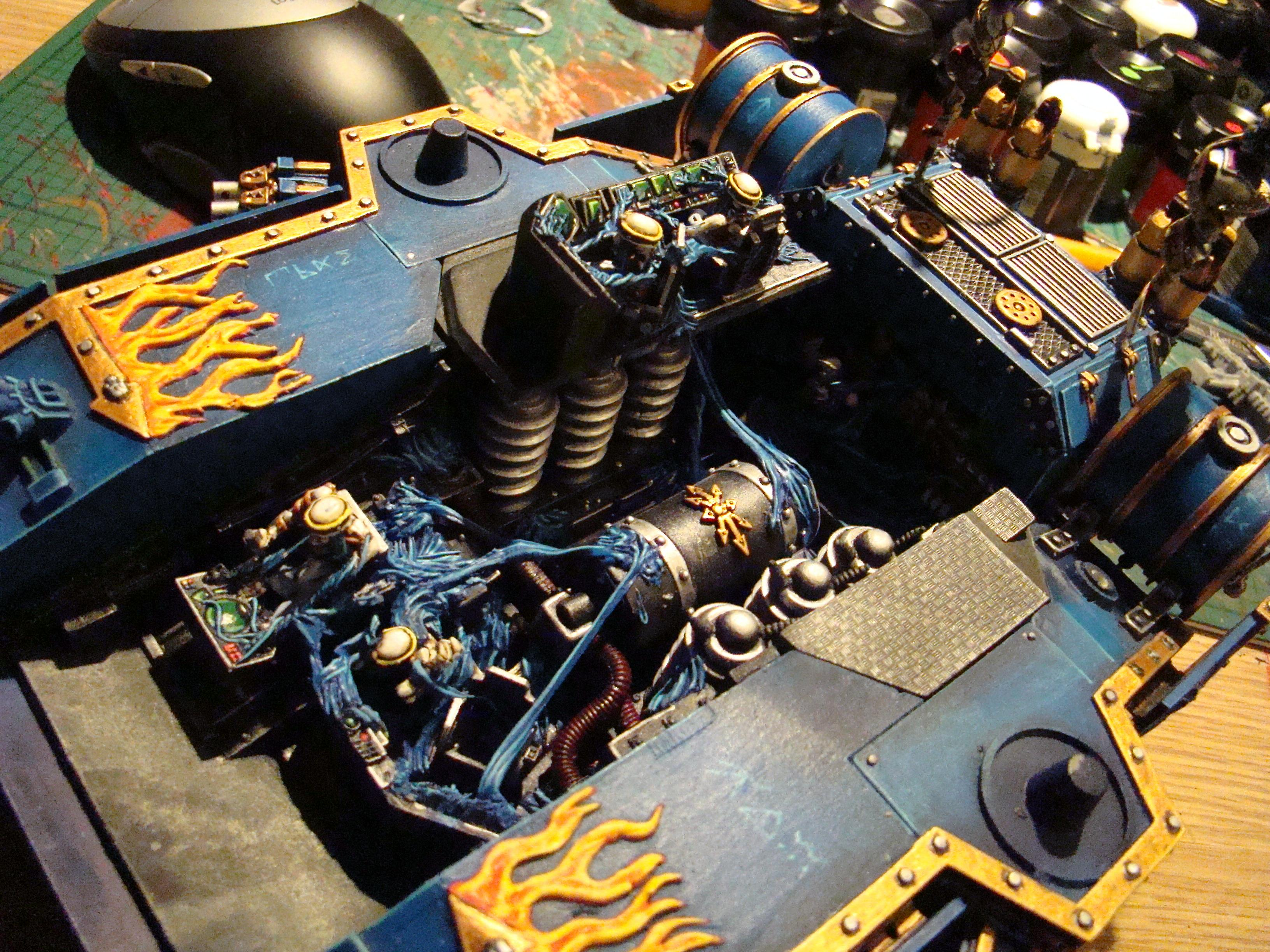 Baneblade, Chaos, Chaos Space Marines, Interior, Thousand Sons, Tzeentch, Warhammer 40,000