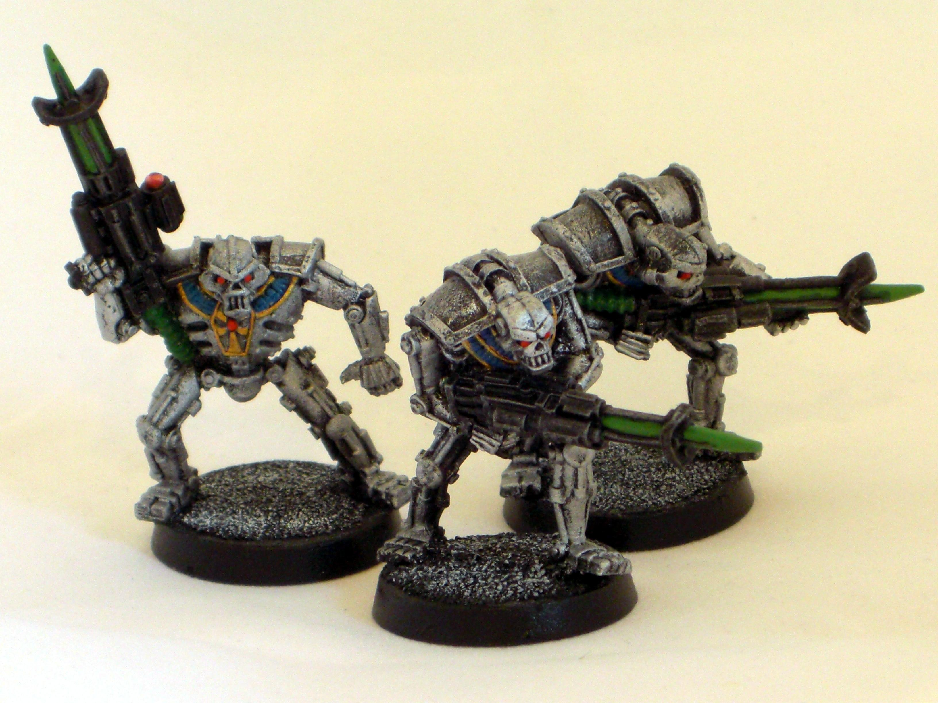 2nd Edition, Necrons, Out Of Production, Warriors