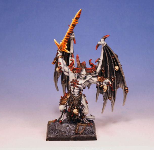 Belakor, Chaos, Daemon Prince, Daemons, Warhammer Fantasy, Warriors Of Chaos, Winged