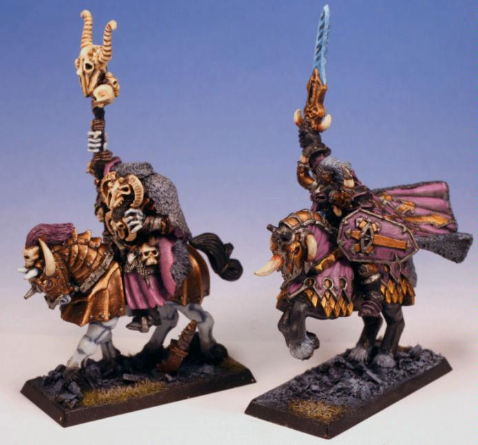 Chaos, Chaos Warrior, Mounted Heroes