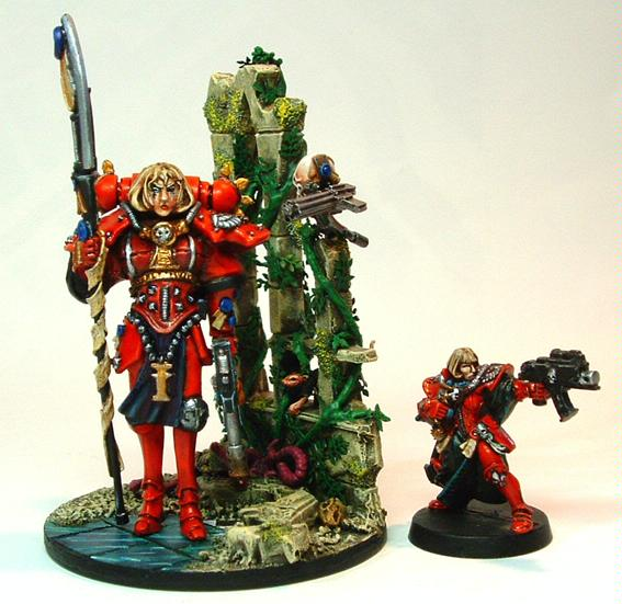 54mm, Inquisitor, Scratch Build, Sisters Of Battle, Warhammer 40,000