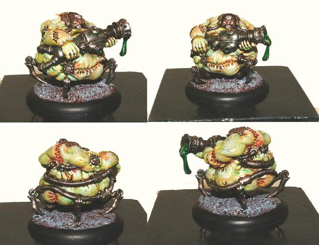 Bloat Thrall, Bloat Trall, Cryx, Privateer Press, Warmachine