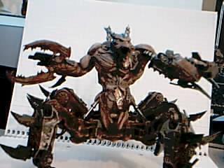 Chaos Space Marines, Daemons, Defiler, Soul Grinder