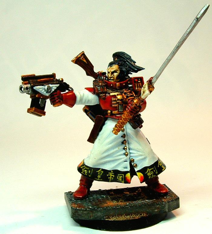 54mm, Chinese, Inquisition, Inquisitor