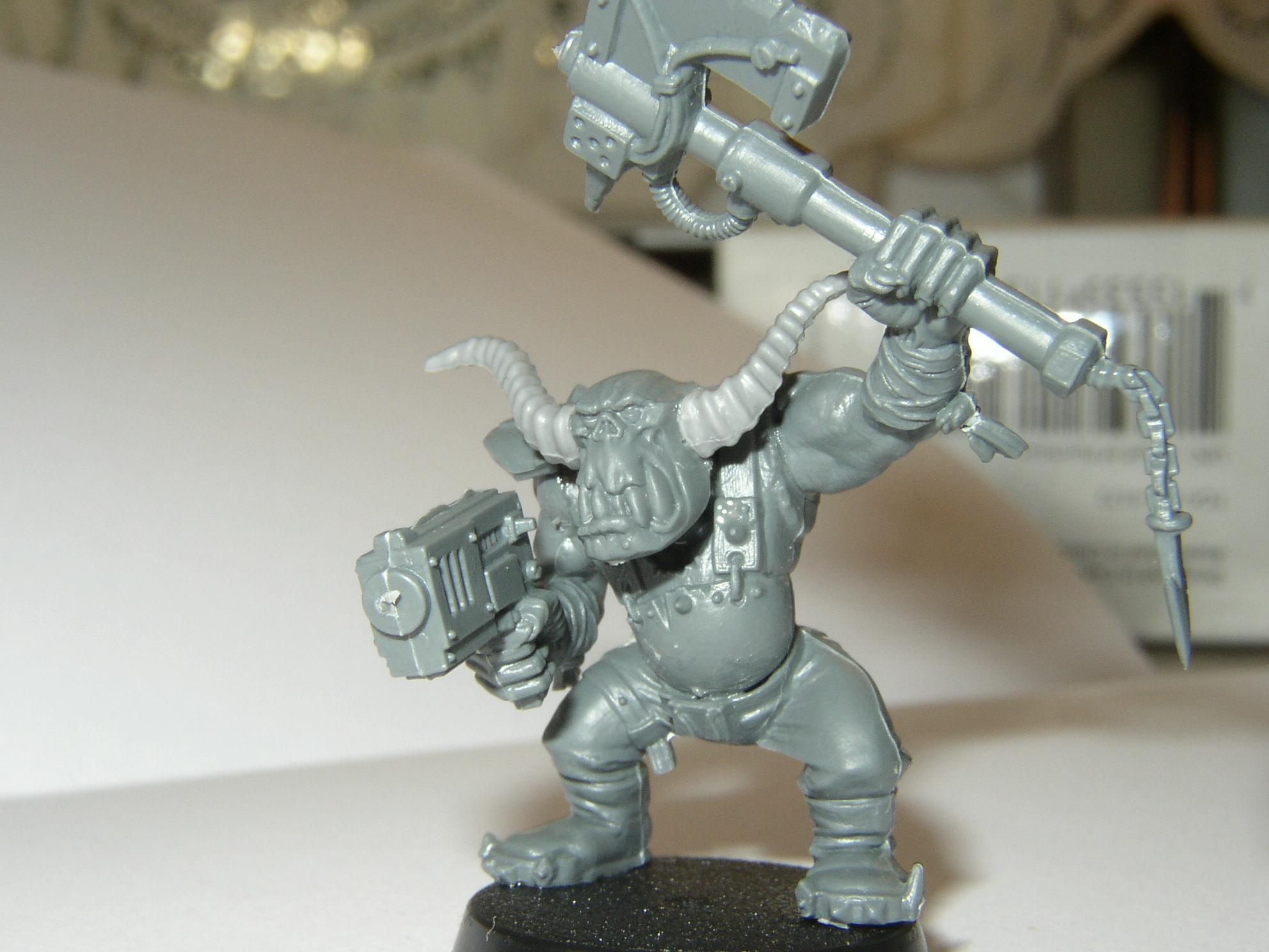 Boy, Chaos, Horns, Orks, Slugga, Warhammer 40,000
