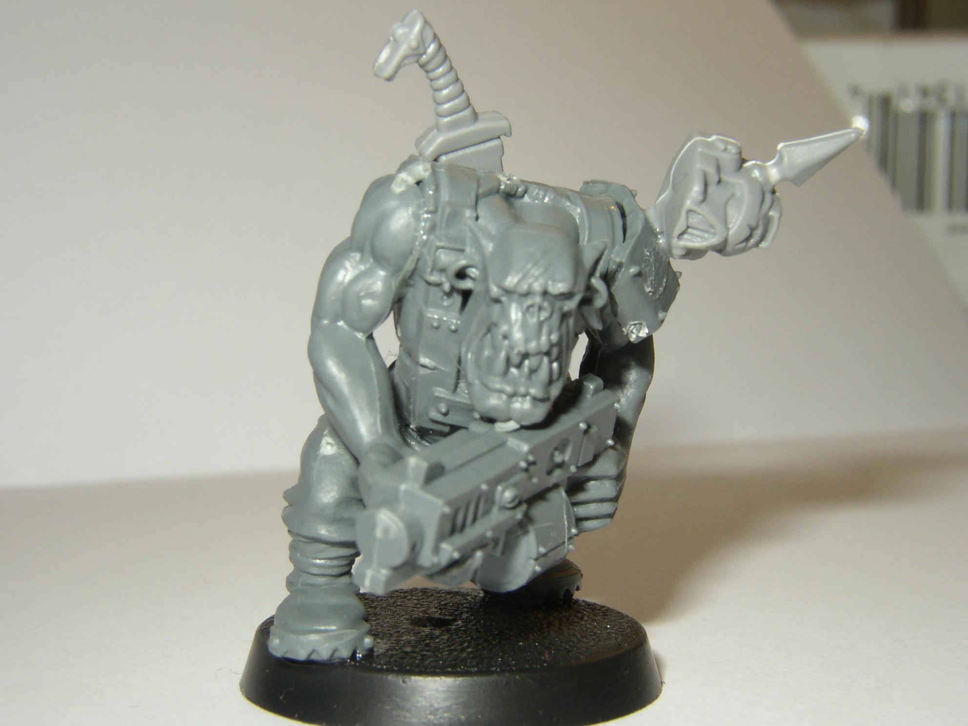 Orks, Warhammer 40,000, Work In Progress