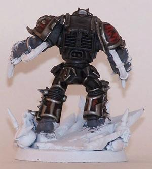 Chaos Lord, Lightning Claws, Lord, Terminator Armor