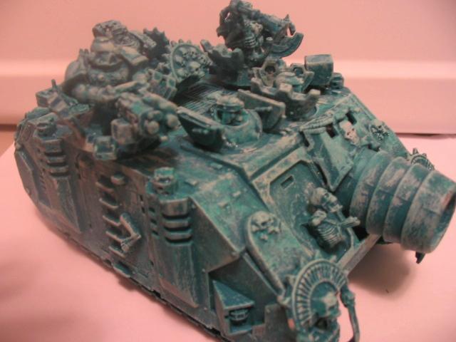 Chaos Space Marines, Skull, Vindicator