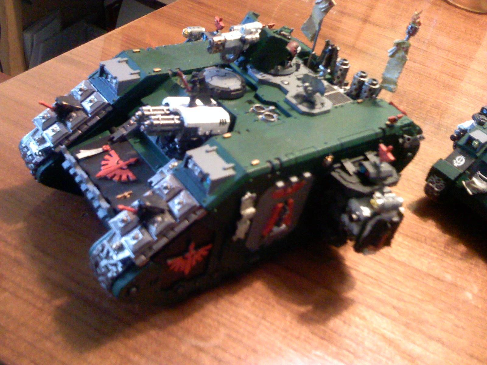 Crusader, Dark Angels, Land Raider, Space Marines, Warhammer 40,000