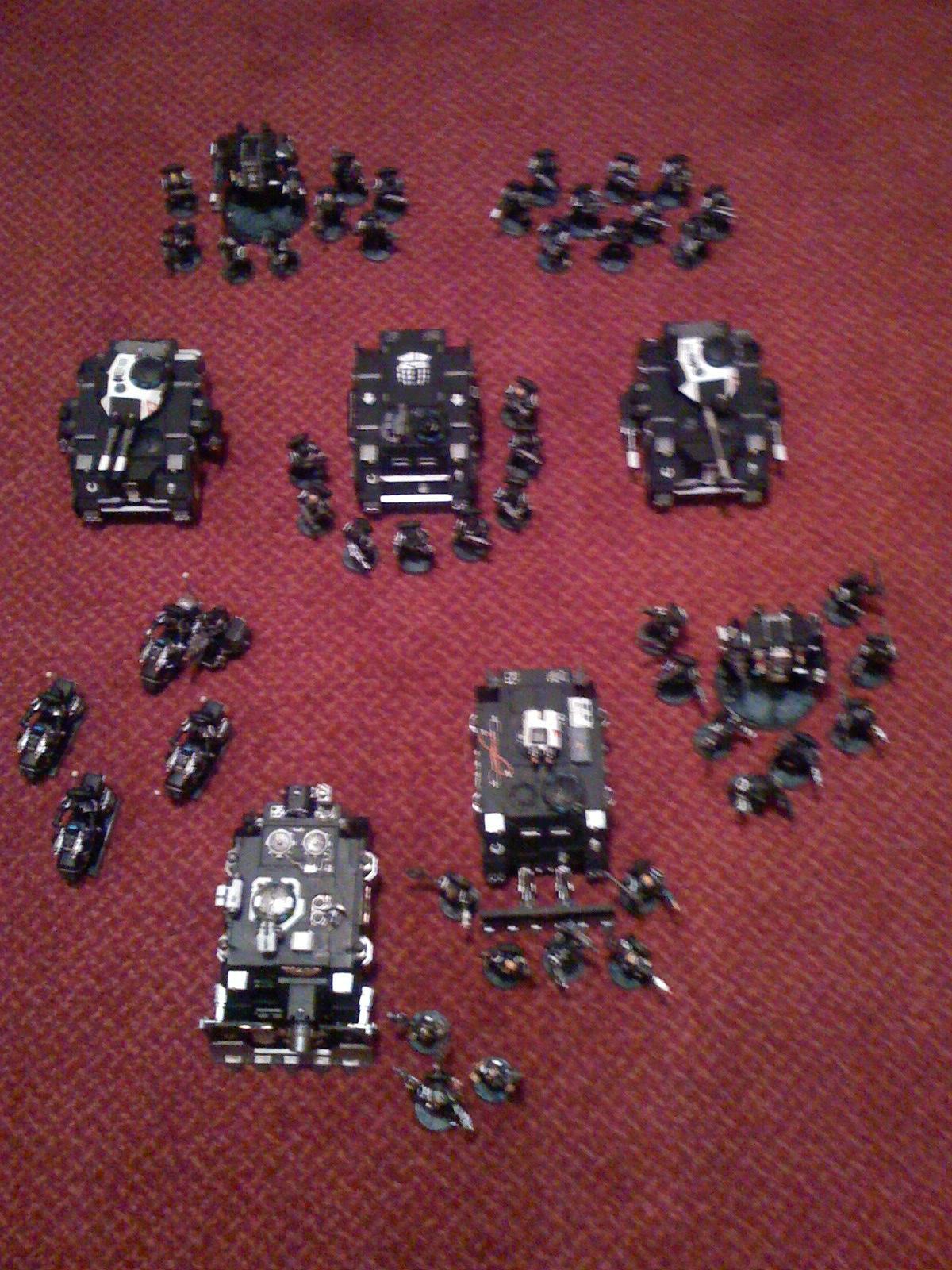 Army, Iron Hands, Space Marines, Warhammer 40,000