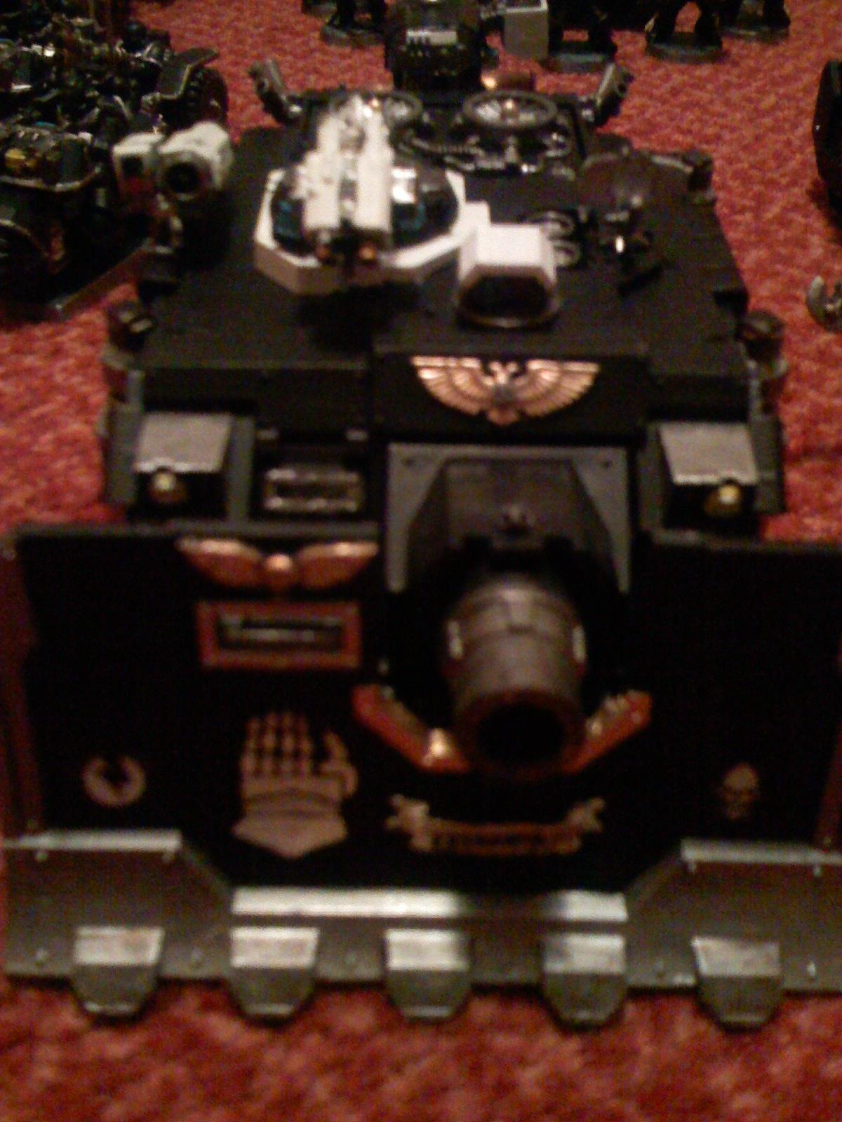 Iron Hands, Space Marines, Vindicator, Warhammer 40,000