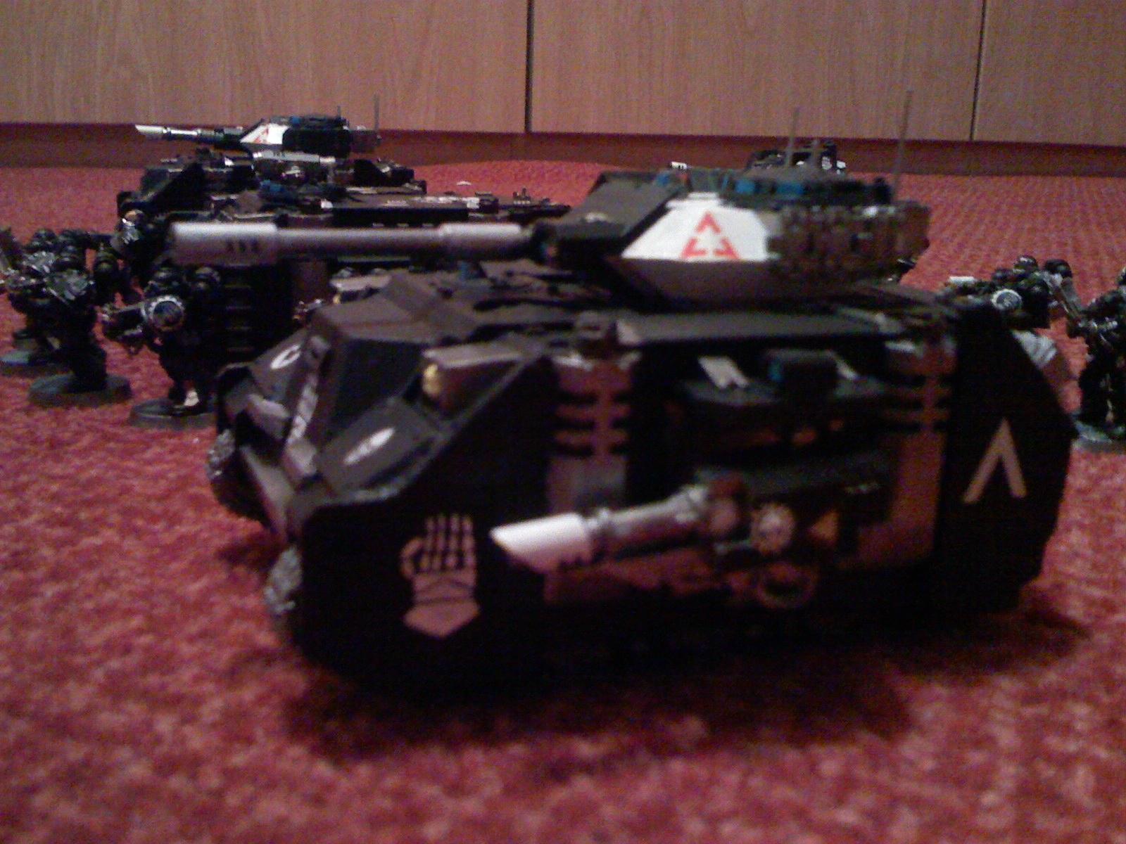 Iron Hands, Predator, Space Marines, Warhammer 40,000