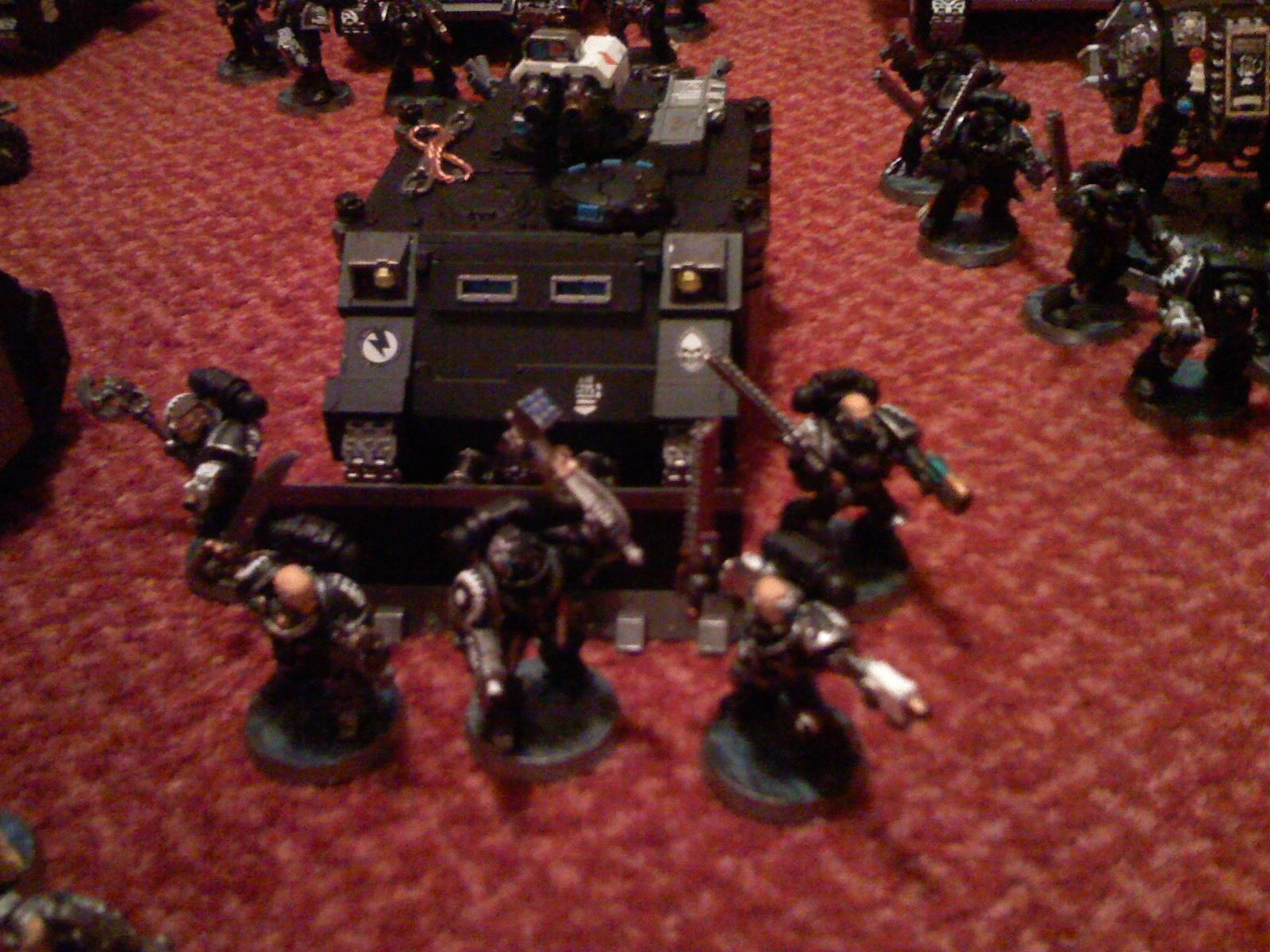 Iron Hands, Razorback, Space Marines, Veteran, Warhammer 40,000