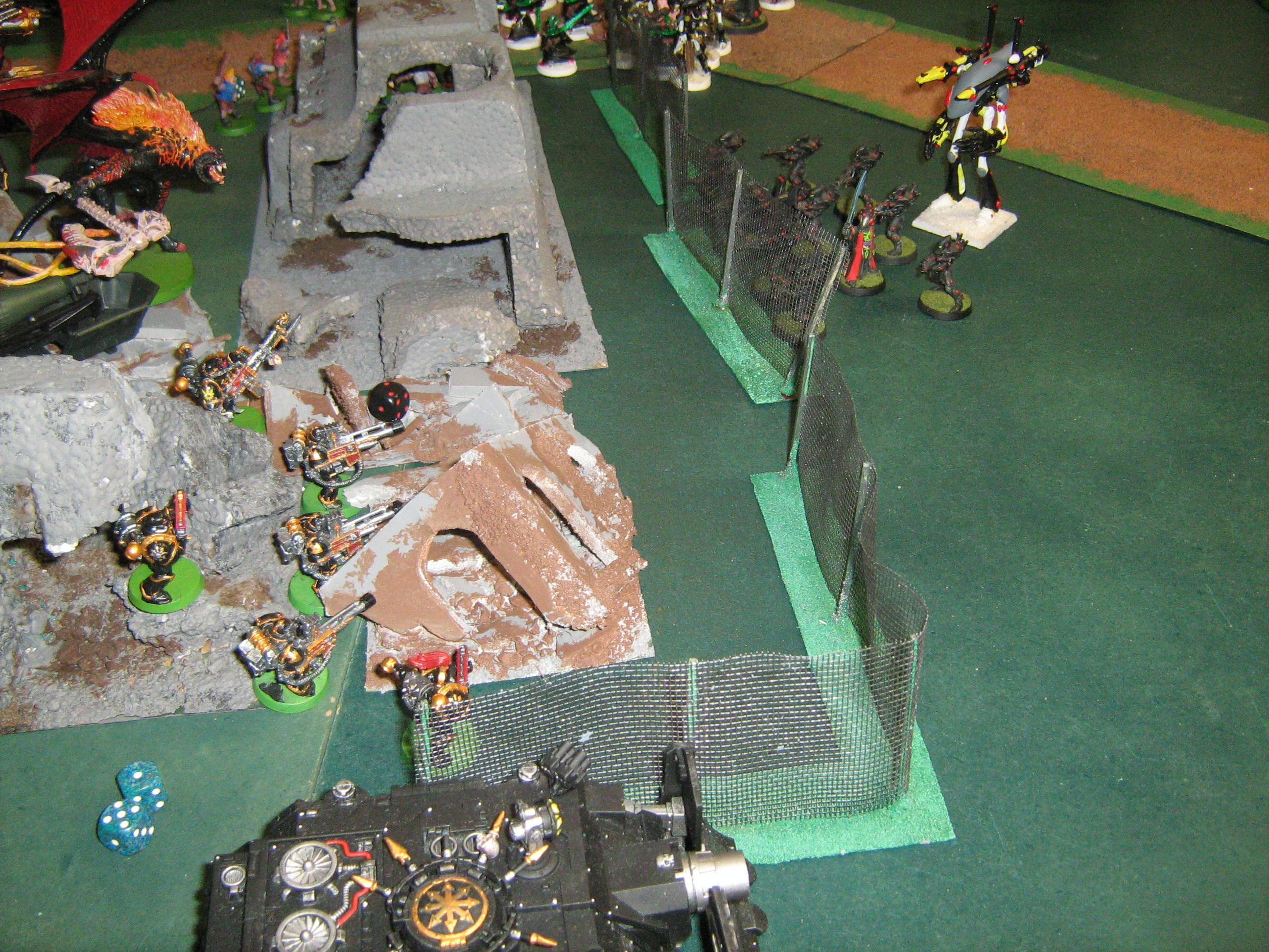 Battle, Chaos Space Marines, Eldar