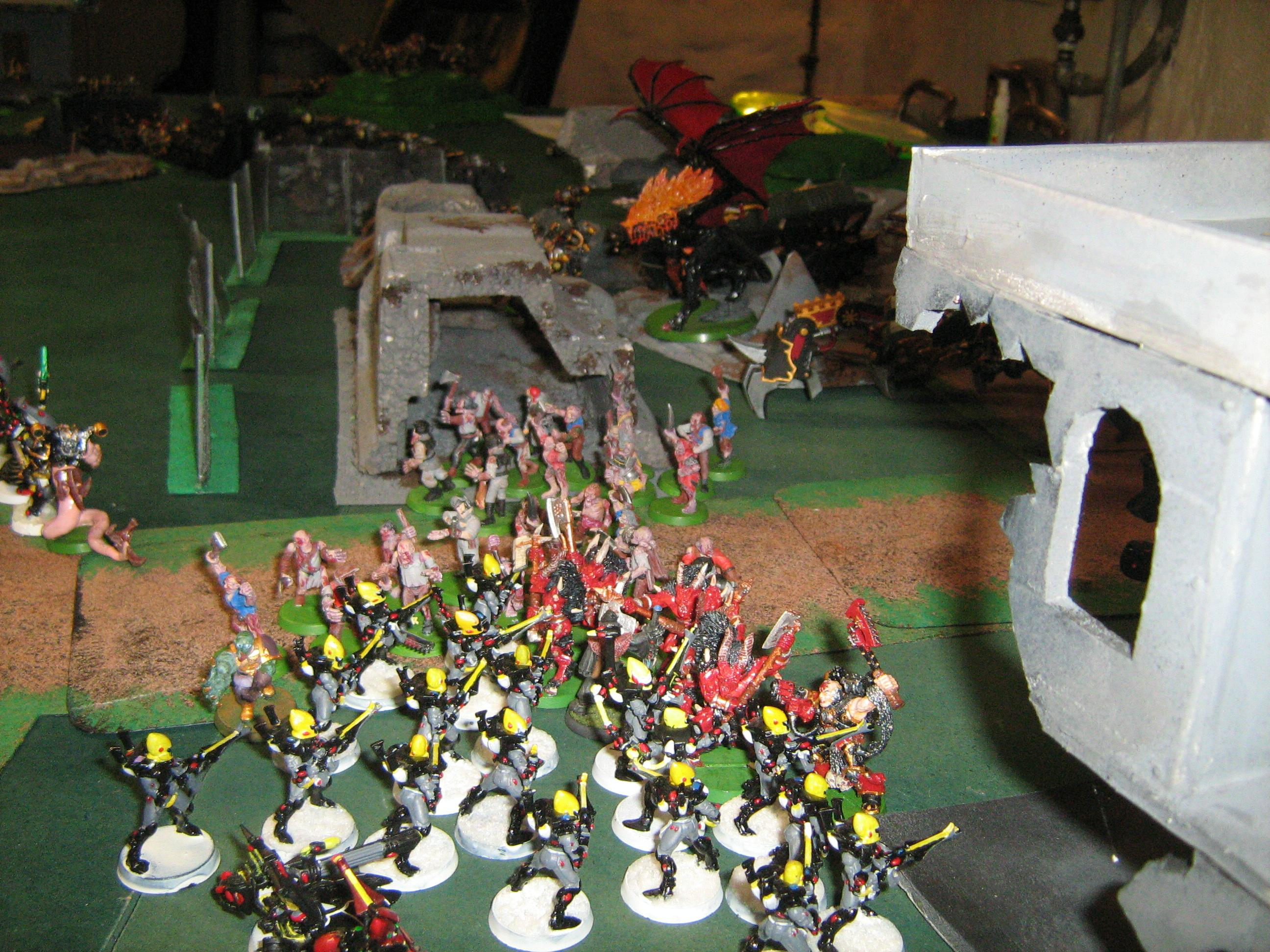 Battle, Eldar, Clash of the lines