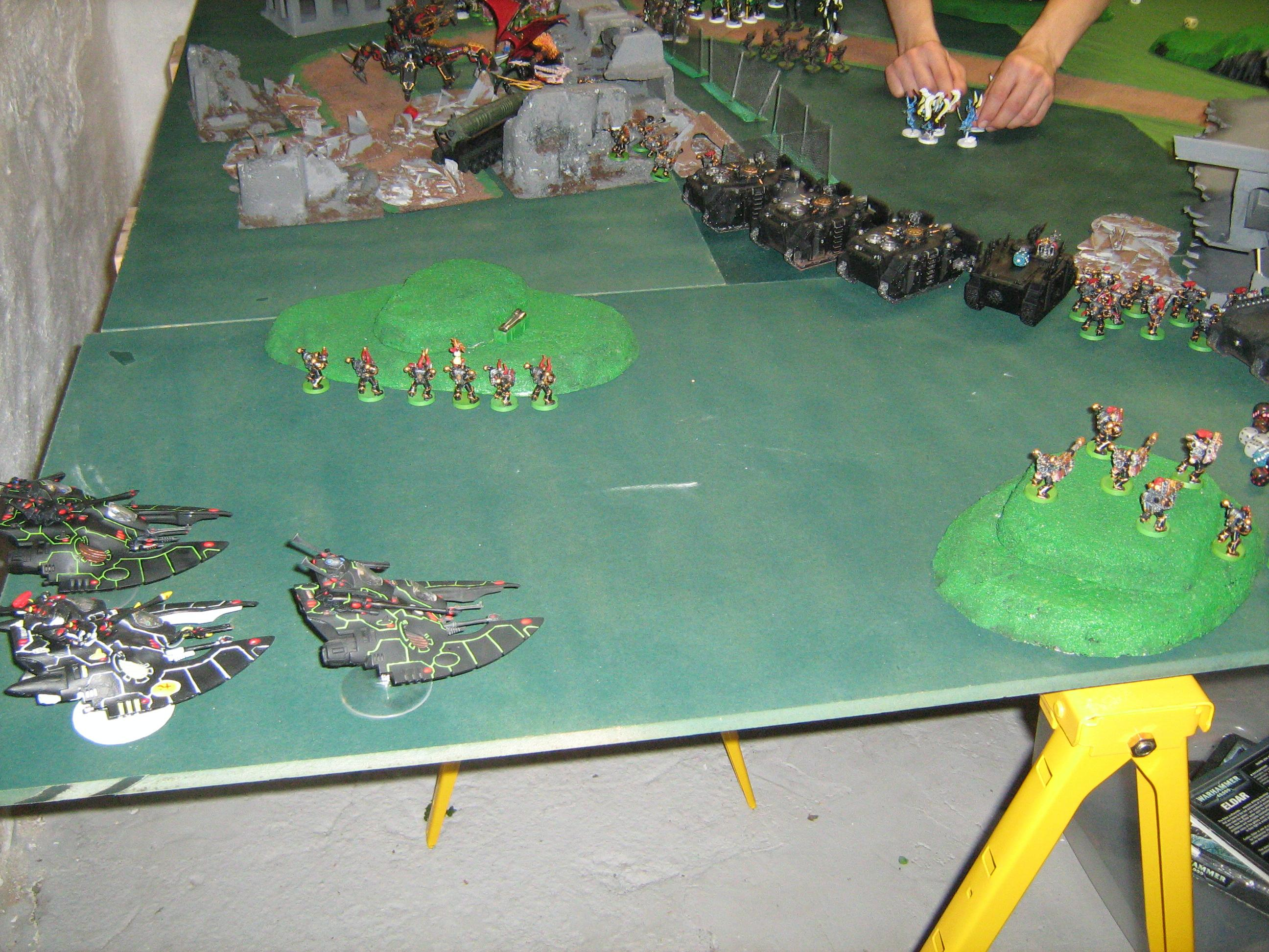 Battle, Eldar, Cloudstrike Flyers