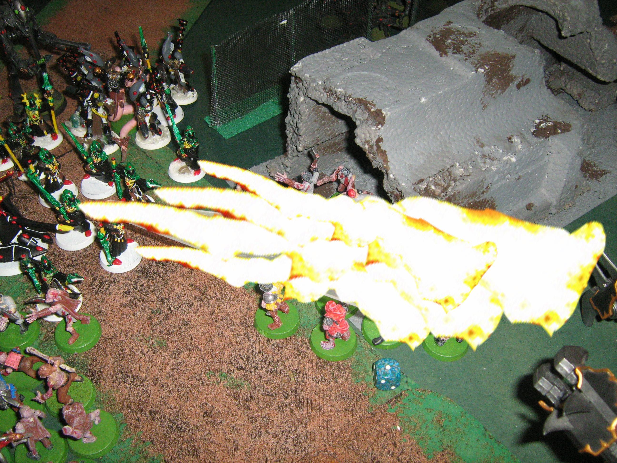 Battle Report, Chaos, Eldar, Warhammer 40,000
