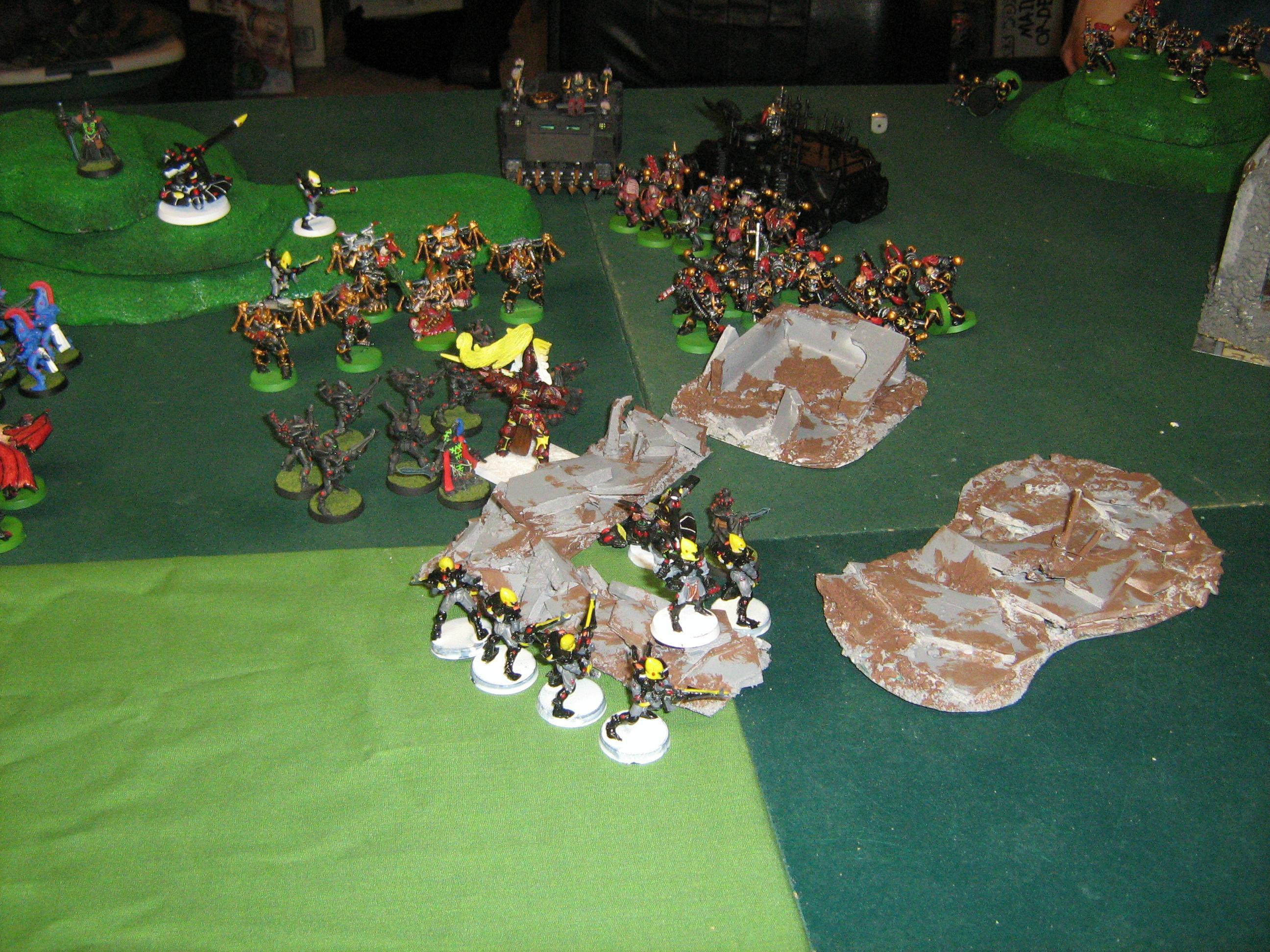 Chaos Attacks, but can't kill