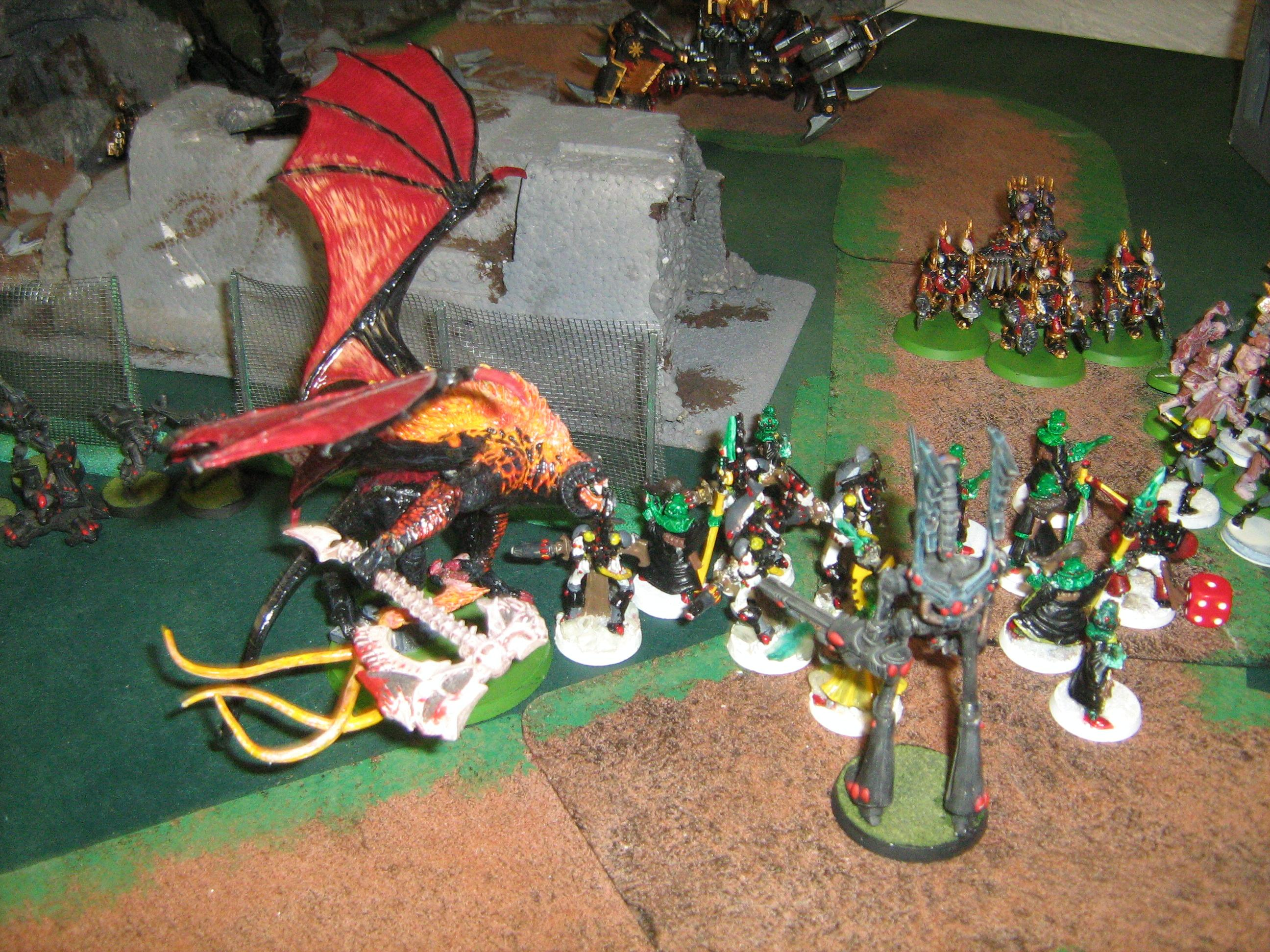 Balrog, Battle Report, Daemon Prince, Eldar
