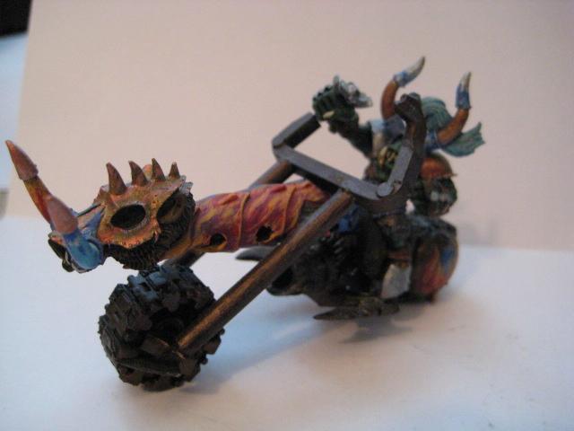Orks, Warbike, Warboss