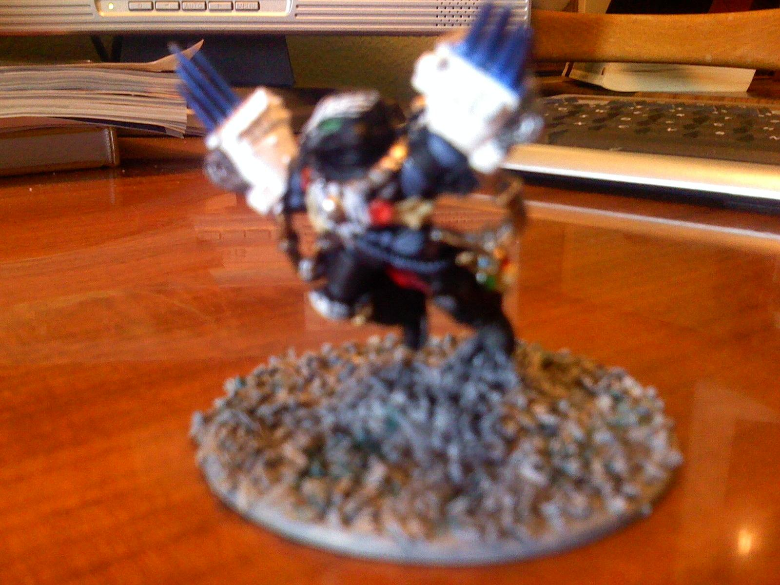 Captain, Kayvaan Shrike, Raven Guard, Space Marines, Warhammer 40,000