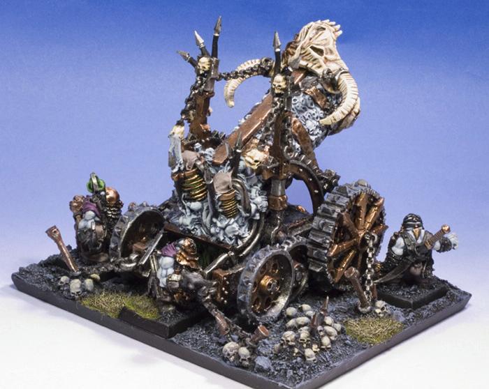 Chaos, Hellcannon, Warhammer Fantasy, Warriors, Warriors Of Chaos